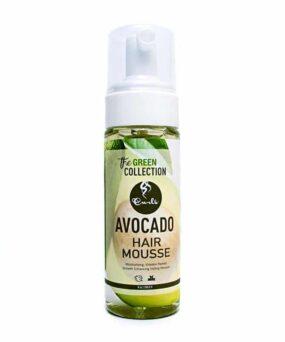 Curls Avacado Hair Mousse curly girl godkendt produkt forhandles ved www.CurlsForYou.dk