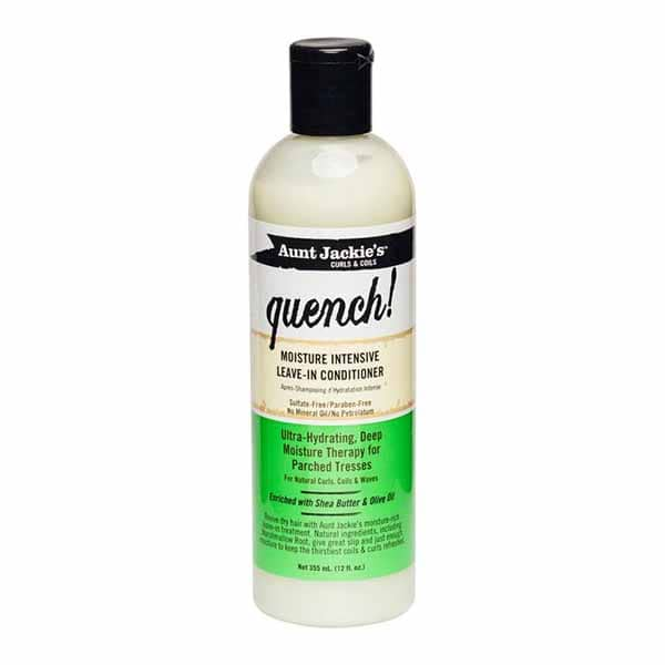 Aunt Jackie's - Quench Leave-In Conditioner curly girl godkendt produkt forhandles ved www.CurlsForYou.dk