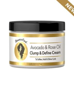 Bounce Curl Avocado and Rose Oil Clump and Define Cream curly girl godkendt produkt forhandles ved ww.curlsforyou.dk din curly girl shop