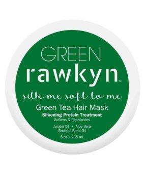 Green Rawkyn Green Tea Hair Mask, curly girl godkendte produkter forhandles ved www.curlsforyou.dk, din curly girl shop