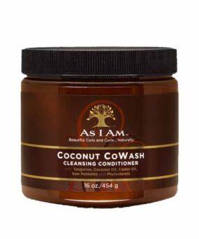 As I Am - Coconut Cowash curly girl godkendt produkt forhandles ved www.CurlsForYou.dk
