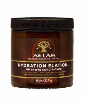 As I Am - Hydration Elation Intensive Conditioner curly girl godkendt produkt forhandles ved www.CurlsForYou.dk