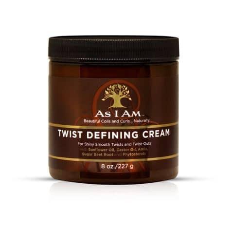 As I Am Twist Defining Cream curly girl godkendt produkt forhandles ved ww.curlsforyou.dk din curly girl shop
