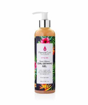 Flora & Curl Sweet Hibiscus Curl Defining Gel curly girl godkendt produkt forhandles ved ww.curlsforyou.dk din curly girl shop