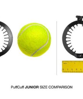 PuffCuff Junior Størrelse curly girl godkendt produkt forhandles ved ww.curlsforyou.dk din curly girl shop