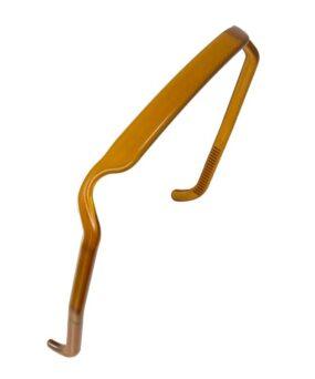 Zazzy Bandz Amber Translucent curly girl godkendt produkt forhandles ved ww.curlsforyou.dk din curly girl shop