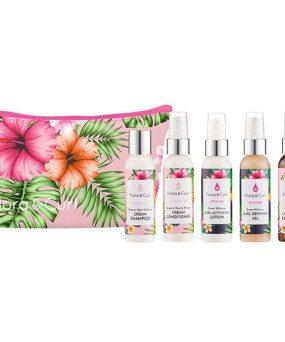 Flora And Curl Essentials Travel Kit til salg ved CurlsForYou.dk