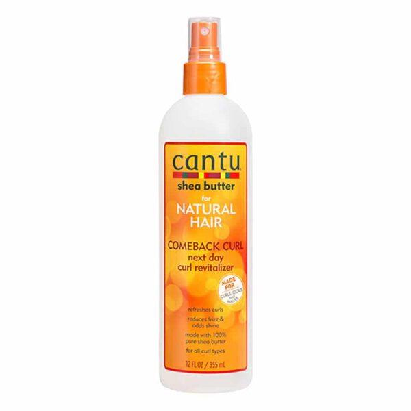 Cantu Comeback Curl Next Day Curl Revitalizer curly girl godkendte produkter forhandles ved www.CurlsForYou.dk din curly girl shop