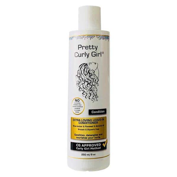Pretty Curly Girl Extra Loving Leave-in conditioner er en leave-in balsam til salg på www.curlsforyou.dk