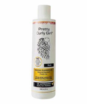 Pretty Curly Girl Magical Flaxseed Gel er en styling gel til salg på www.curlsforyou.dk