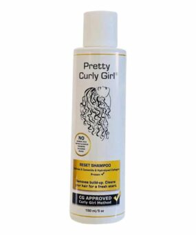 Pretty Curly Girl Reset Shampoo er en sidste vask shampoo til salg på www.curlsforyou.dk
