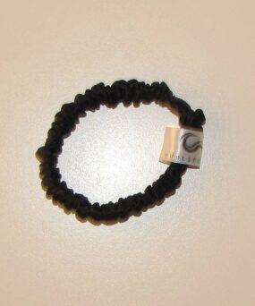 Silke Scrunchies i Mini størrelse fra vores eget CurlsForYou mærke i farven black