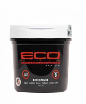 EcoStyler - Protein styling gel hjælper med at pleje og reparere beskadiget hår og samtidig fremme en sund hovedbund.