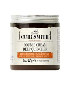 Curlsmith Double Cream Deep Quencher er en hårkur til ultra tørt hår