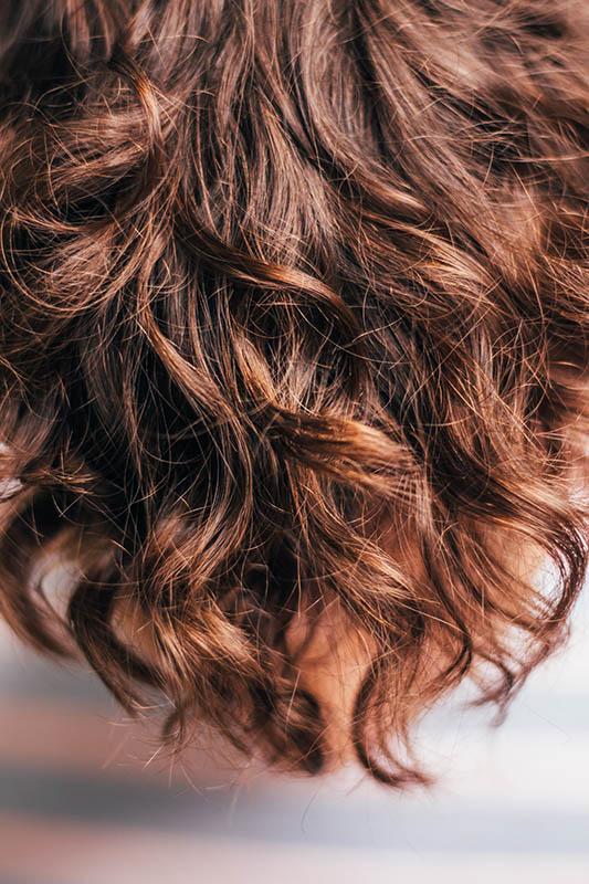 Billede brugt til blog om hår typer