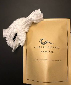 CurlsForYou Engangsbadehætter i miljørigtigt materiale