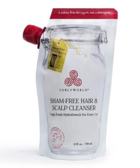 CurlyWorld Sham-Free Hair & Scalp Cleanser