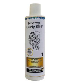 Pretty Curly Girl Peppermint Fresh Co-Wash vaskebalsam til salg på www.curlsforyou.dk