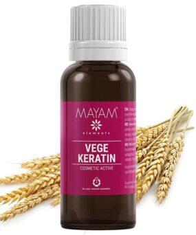 Mayam Vegetabilsk Keratin 25 ml til salg ved curlsforyou.dk